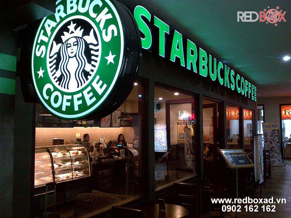 thi công bảng hiệu quán cafe